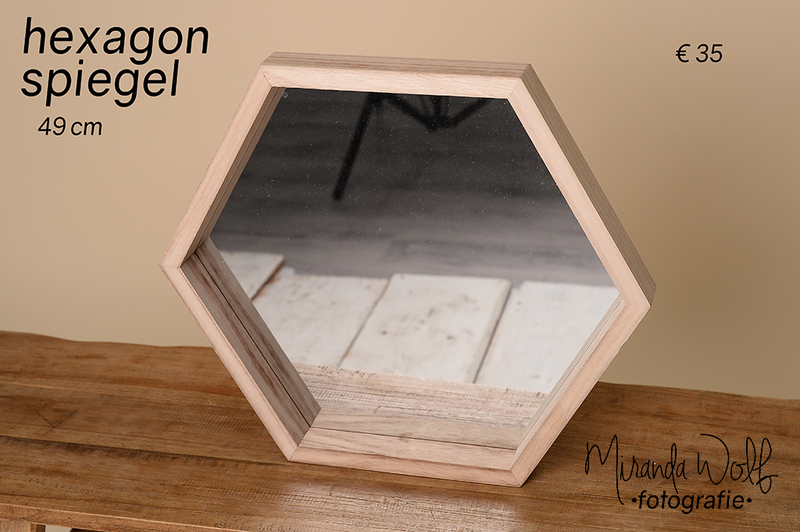 hexagon spiegel
