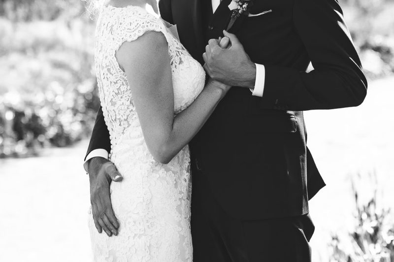 trouwen zwart wit fotografie