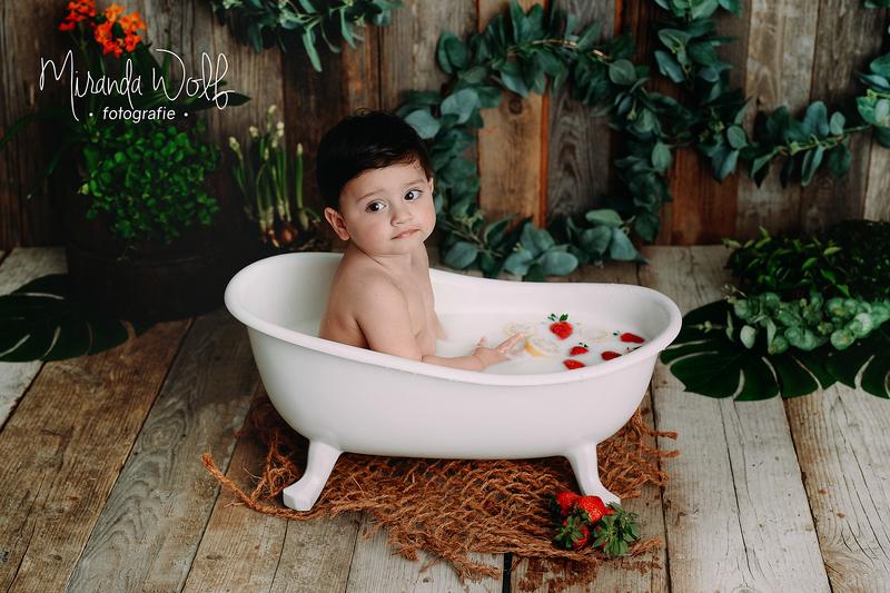 fotoshoot melkbad
