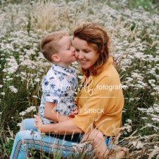 moeder en zoon shoot