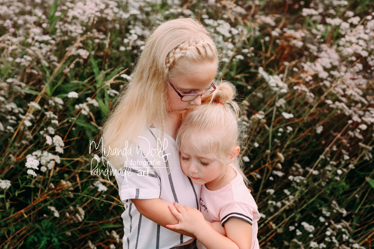 zusjes fotoshoot