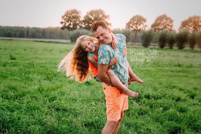 vader en dochter shoot
