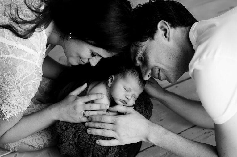 newborn met ouders