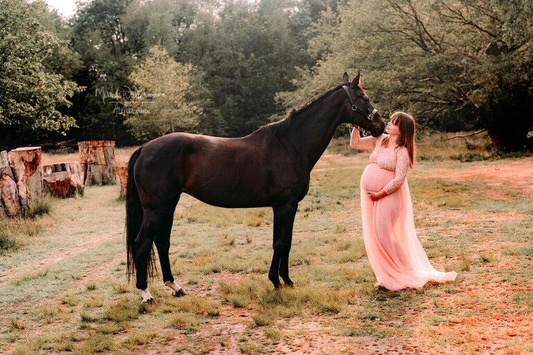 paarden shoot zwangere