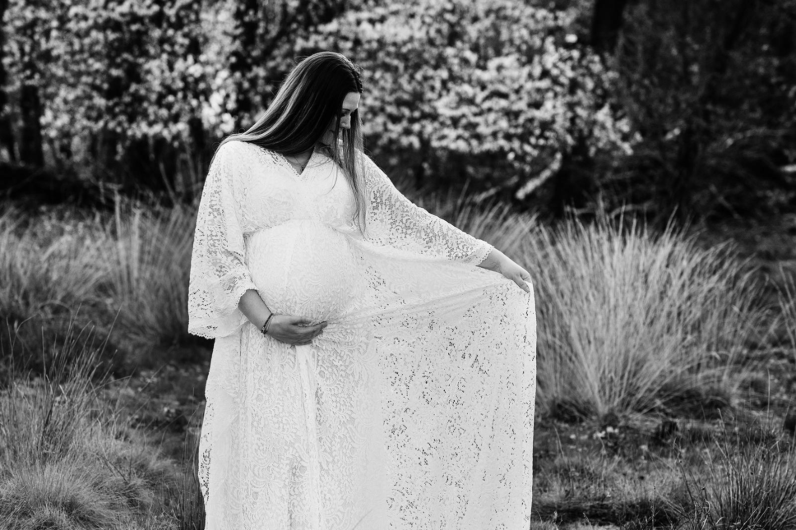 zwanger buiten